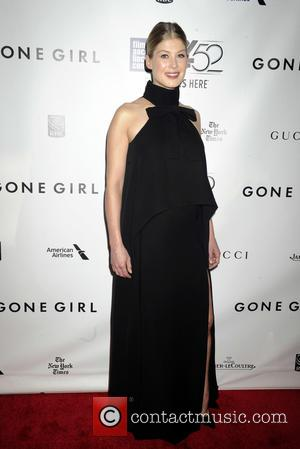 Rosamund Pike - 52nd New York Film Festival - 'Gone Girl' - World premiere - New York City, New York,...