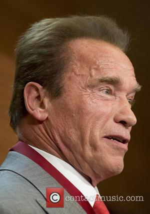 Arnold Schwarzenegger - Arnold Schwarzenegger receives a medal honoring him as Tourism Ambassador for Madrid - Madrid, Spain - Friday...