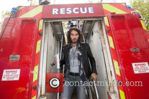 Russell Brand Joins Protest Over London Housing