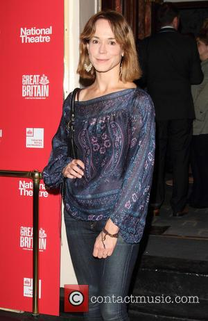 Frances O'Connor - The opening of the National Theatre's production of Great Britain at the Theatre Royal Haymarket - Arrivals...