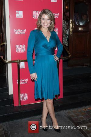Charlotte Hawkins - Great Britain opening night at Theatre Royal Haymarket - London, United Kingdom - Friday 26th September 2014