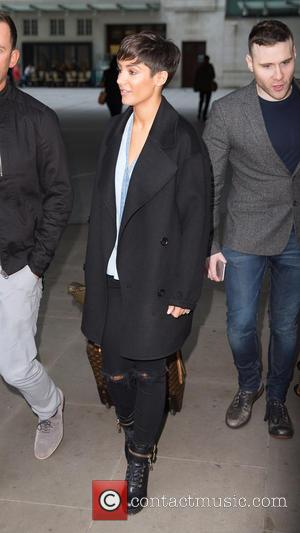 Frankie Sandford - Celebrities at the BBC Radio 1 studios at BBC Portland Place - London, United Kingdom - Friday...