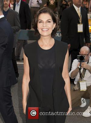 Sela Ward - World Premiere of Gone Girl at Alice Tully Hall  Lincoln Center - New York, New York,...