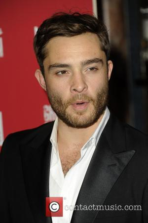 Ed Westwick - 'Great Britain' press night at Theatre Royal Haymarket - London, United Kingdom - Saturday 27th September 2014