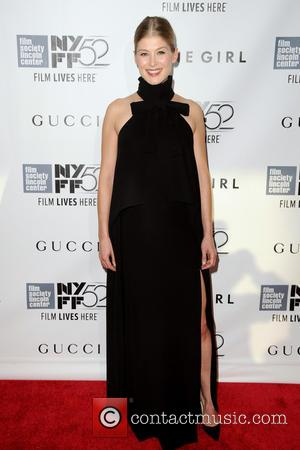 Rosamund Pike - 52nd New York Film Festival - 'Gone Girl' - World premiere - Manhattan, New York, United States...