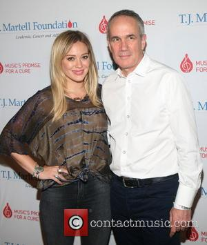 Hilary Duff and Tom Corson