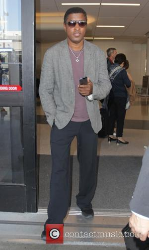 Babyface - Celebrities at LAX airport - Hollywood, California, United States - Saturday 27th September 2014
