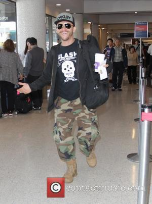 Clifton Collins Jr - Celebrities at LAX airport - Hollywood, California, United States - Saturday 27th September 2014