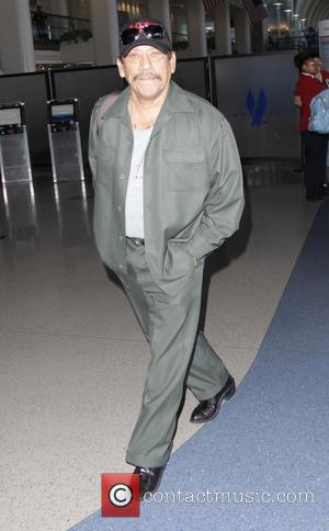 Danny Trejo - Celebrities at LAX airport - Hollywood, California, United States - Saturday 27th September 2014