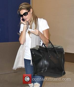 Erin Andrews - Celebrities at LAX airport - Hollywood, California, United States - Saturday 27th September 2014
