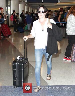 Shannen Doherty - Celebrities at LAX airport - Hollywood, California, United States - Saturday 27th September 2014