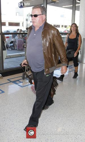 William Shatner - Celebrities at LAX airport - Hollywood, California, United States - Saturday 27th September 2014