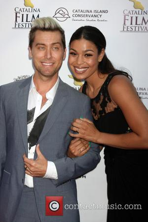 Lance Bass and Jordin Sparks - Left Behind Screening at the Catalina Film Festival at Casino on Catalina Island -...