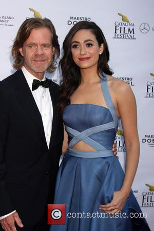 William H. Macy and Emmy Rossum - A variety of celebrities attended the Catalina Film Festival Gala at Casino on...