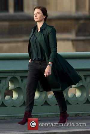 Rebecca Ferguson - Filming of 'Mission Impossible 5' in Central London - London, United Kingdom - Sunday 28th September 2014