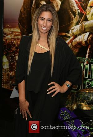 Stacey Solomon - 'Teenage Mutant Ninja Turtles' gala screening at Leicester Square - London, United Kingdom - Sunday 28th September...