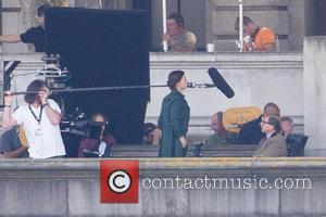 Rebecca Ferguson - Filming takes place for 'Mission: Impossible 5' - London, United Kingdom - Sunday 28th September 2014