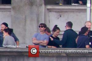 Tom Cruise - Filming takes place for 'Mission: Impossible 5' - London, United Kingdom - Sunday 28th September 2014