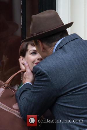 Jessica Raine and David Walliams