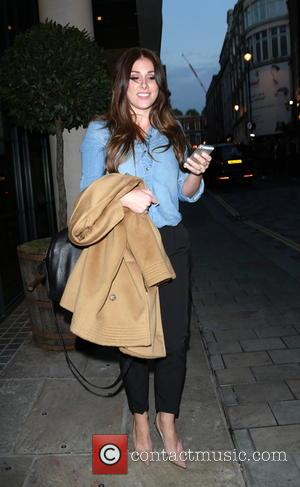 Lucy Pinder - Screening of 'We Still Kill The Old Way' at The Ham Yard Hotel, Denman Street - London,...