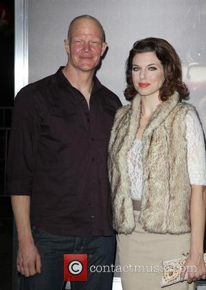 Derek Mears and Jenny Brezinski - Los Angeles Special Screening Of New Line Cinema's