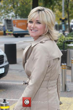 Anthea Turner - A variety of British Celebs were spotted outside the ITV studios in London, United Kingdom - Monday...