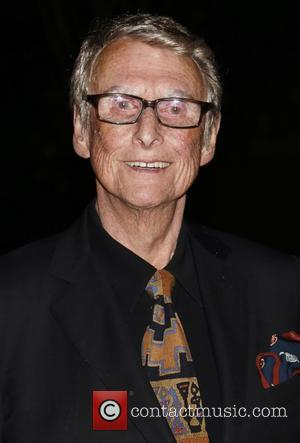 Mike Nichols - Opening night of Indian Ink at the Laura Pels Theatre - Arrivals. at Laura Pels Theatre, -...