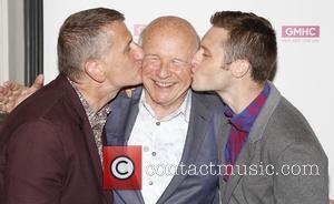 Tom Kirdahy, Terrence Mcnally and Bobby Steggert