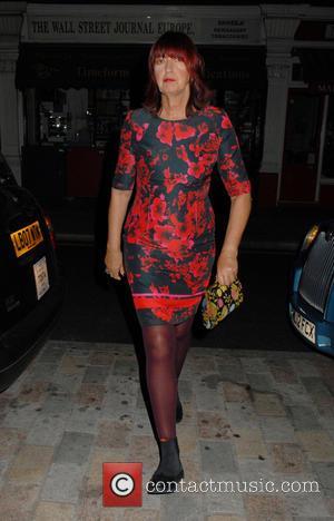 Janet Street-Porter - Celebrities at Chiltern Firehouse restaurant - London, United Kingdom - Tuesday 30th September 2014