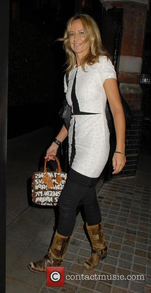 Lady Victoria Hervey - Celebrities at Chiltern Firehouse restaurant - London, United Kingdom - Tuesday 30th September 2014
