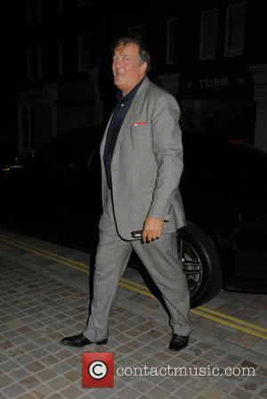 Stephen Fry - Celebrities at Chiltern Firehouse restaurant - London, United Kingdom - Tuesday 30th September 2014