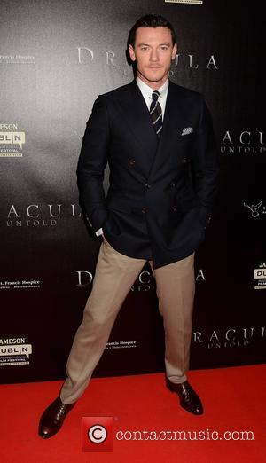 Luke Evans - Stars attended the premiere of the drama, action, fantasy movie 'Dracula Untold' in Dublin, Ireland - Tuesday...