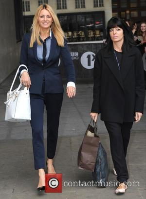 Tess Daly and claudia Winkleman - Celebrities at BBC Radio 1 - London, United Kingdom - Tuesday 30th September 2014