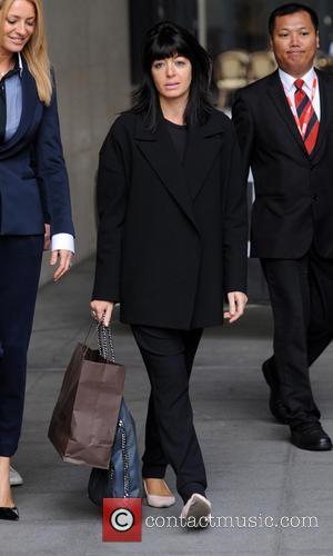 Claudia Winkleman - Celebrities at BBC Radio 1 - London, United Kingdom - Tuesday 30th September 2014