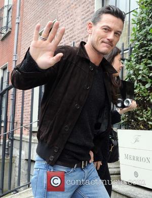 Luke Evans - Celebrities at The Merrion Hotel - Dublin, Ireland - Tuesday 30th September 2014