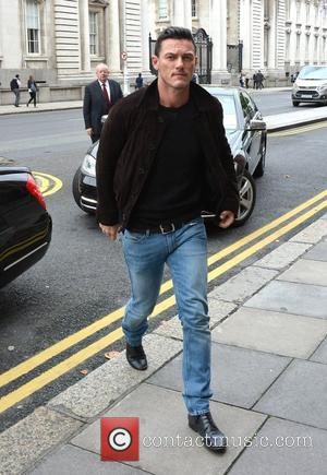Luke Evans - Dracula Untold actors Spotted - Dublin, Ireland - Tuesday 30th September 2014