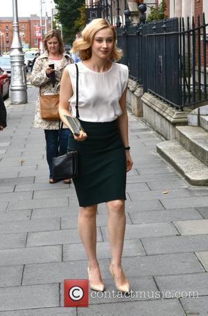Sarah Gadon - Dracula Untold actors Spotted - Dublin, Ireland - Tuesday 30th September 2014