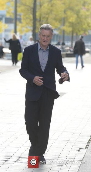 Michael Palin - Celebrities at MediaCityUK - Manchester, United Kingdom - Tuesday 30th September 2014