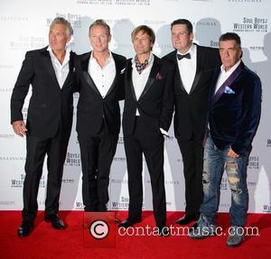 Martin Kemp, Gary Kemp, Steve Norman, Tony Hadley and John Keeble - Stars turned out for the UK premiere of...