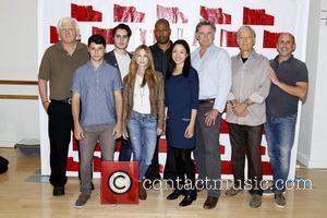 David Rabe, Raviv Ullman, Ben Schnetzer, Holly Hunter, Morocco Omari, Nadia Gan, Bill Pullman, Richard Chamberlain and Scott Elliott