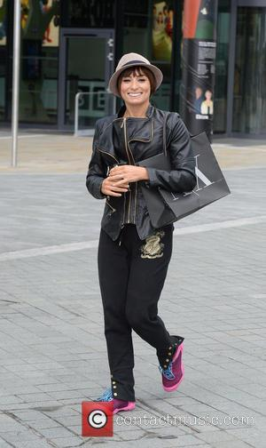 Flavia Cacace - Flavia Cacace out and about in Media City at Strictly Come Dancing - Manchester, United Kingdom -...