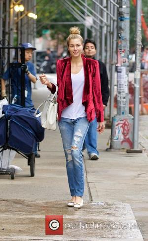 Jessica Hart - Jessica Hart out and about in the East Village - New York City, New York, United States...