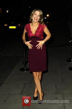 Charlotte Hawkins - A variety of British stars attended the event held at the Langham Hotel to celebrate Scottish TV...