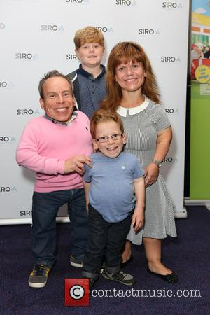 Warwick Davis and Family - SIRO-A opening night at Leicester Square Theatre at Leicester Square - London, United Kingdom -...