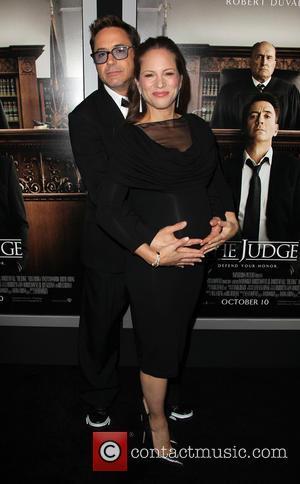 Robert Downey Jr. and Susan Downey at AMPAS Samuel Goldwyn Theater