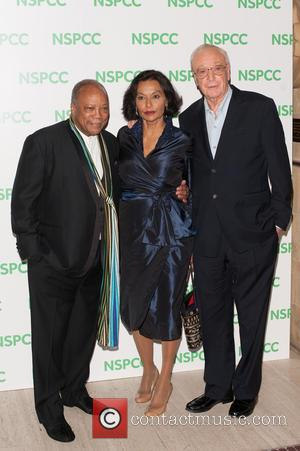 Quincy Jones, Shakira Caine and Michael Caine - A Night Out With Michael Caine at Royal Albert Hall - London,...