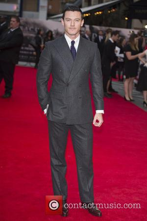 Luke Evans - 'Dracula Untold' Premiere in Leicester Square - Arrivals - London, United Kingdom - Wednesday 1st October 2014