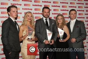 Danny Dyer - British soap opera stars attended the Inside Soap Awards 2014 which were held at one of Europe's...