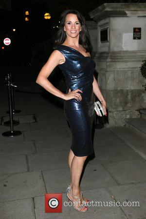 Andrea McLean - A variety of British stars attended the event held at the Langham Hotel to celebrate Scottish TV...