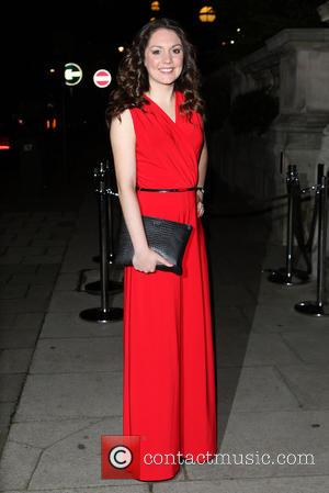 Laura Tobin - A variety of British stars attended the event held at the Langham Hotel to celebrate Scottish TV...